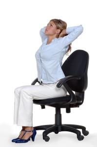 office gym ejercicio silla A